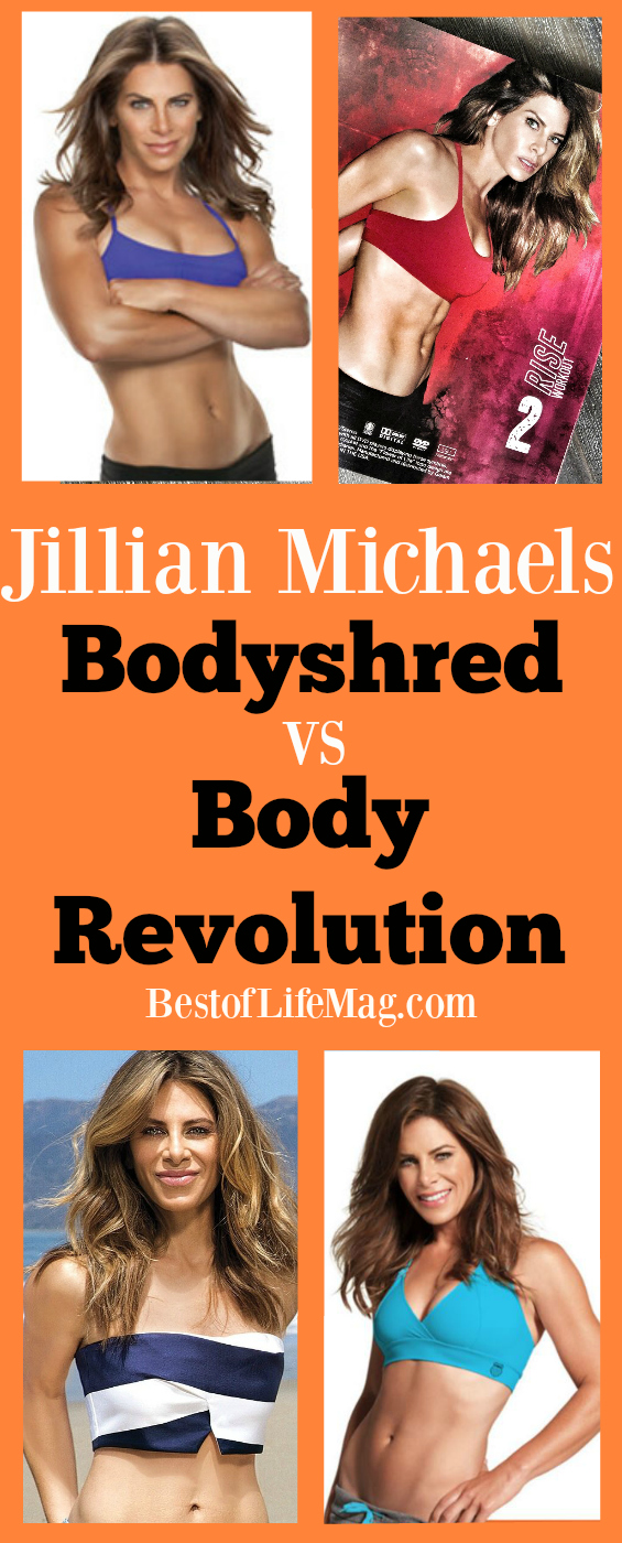 Have you been wanting to look at Jillian Michael's Body Revolution vs Bodyshred so you know which workout program to choose? Our workout comparison will help you decide and get started!
