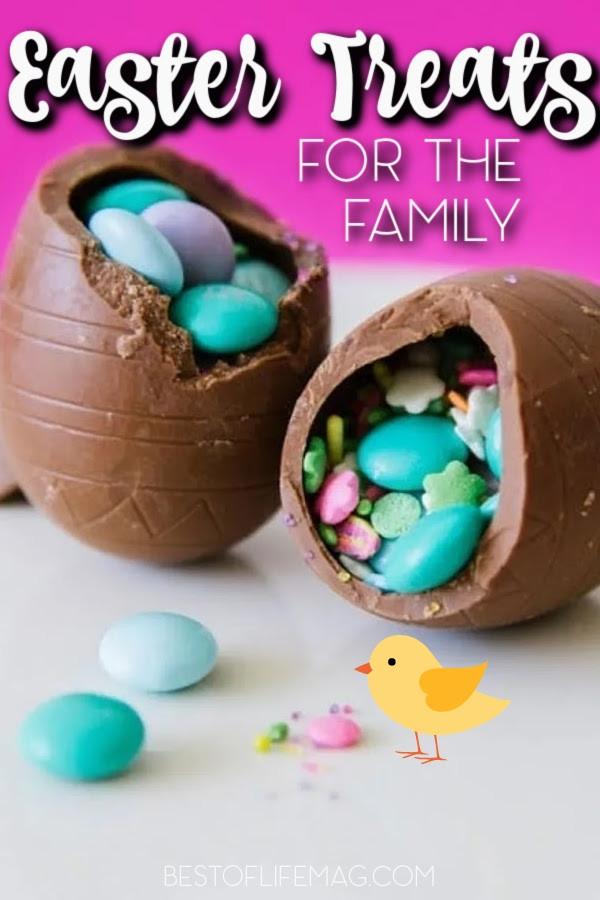 Making homemade Easter treats is a great way to spend time together as a family and enjoy the flavors of springtime. Easter Recipes for Kids | Easter Recipes for Families | Snacks for Easter | Homemade Chocolate Bunnies | Easter basket Ideas | Easter Foods | Spring Foods and Side Dishes #easter #recipes via @amybarseghian