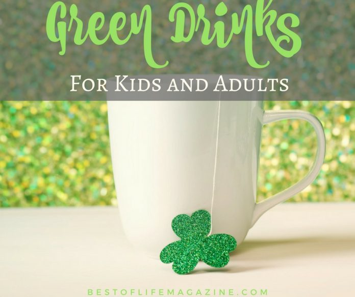 St. Patrick's Day is when we come together and celebrate the culture and history of the Irish and with these green drinks are perfect for kids and adults!