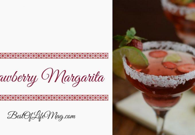 How to Make a Strawberry Margarita Recipe