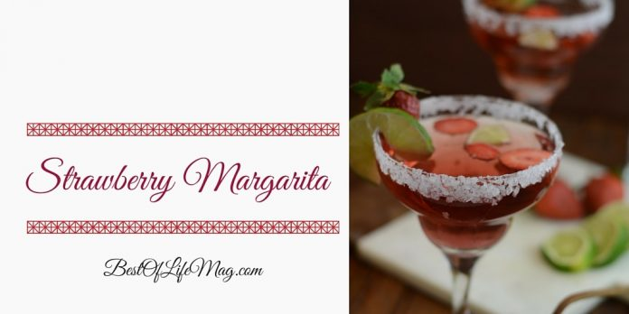 How to Make a Strawberry Margarita Recipe