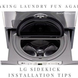 LG Sidekick Pedestal Washer Installation Tips