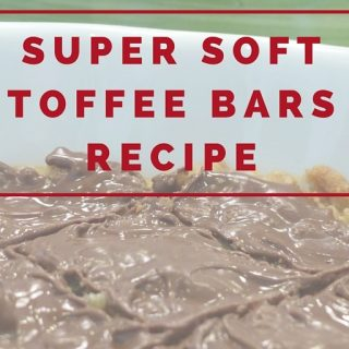 This toffee bars recipe is super soft and a guaranteed hit for everyone in the family! Soft toffee with warm chocolate on top - yum! Toffee Bar Recipe | Best Toffee Bar Recipe | Easy Toffee Bar Recipe | How to Make Soft Toffee Bars | Best Dessert Recipe | Easy Dessert Recipe