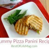 Yummy Pizza Panini Recipe