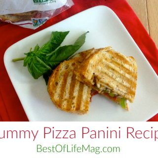 Yummy Pizza Panini Recipe