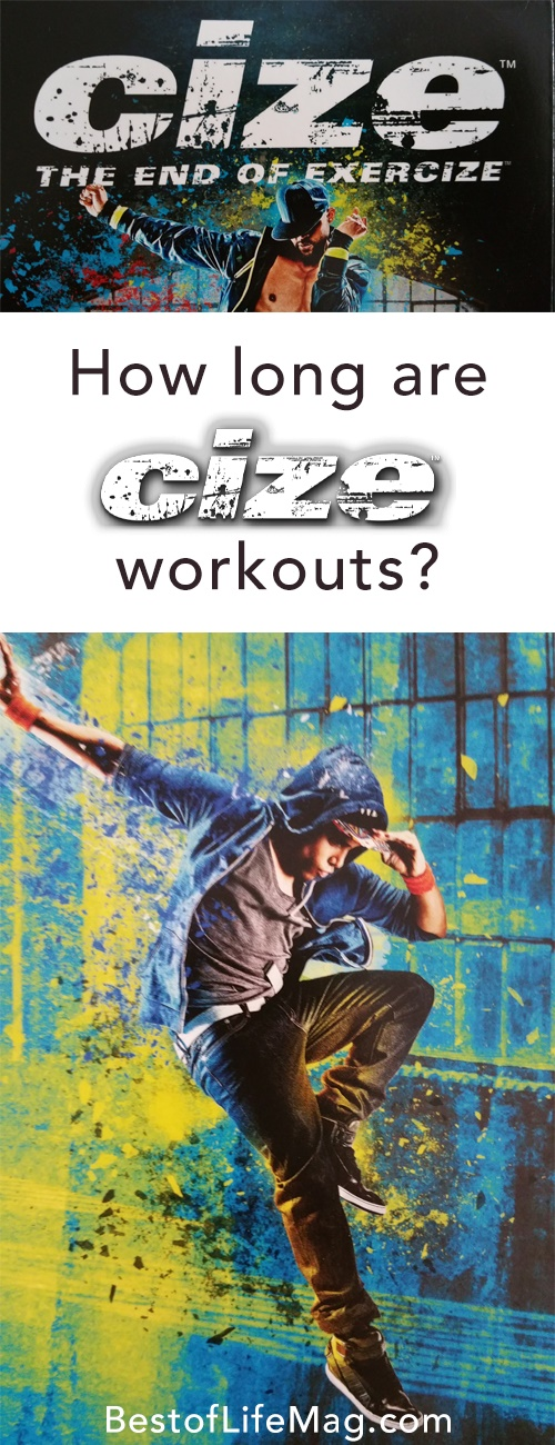 CIZE workouts vary in length but one thing is for certain; no matter how long they are, you burn a lot of calories!
