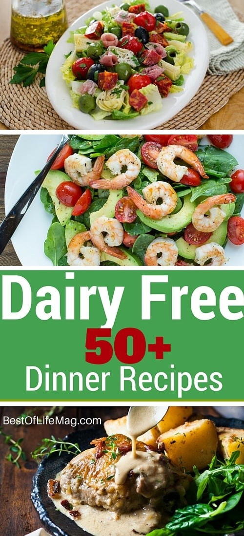 On a ‎Dairy Free‬ diet? Here are 50 recipes that taste amazing and will leave you feeling like you didn't miss a thing.