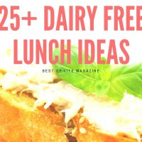 Dairy Free Lunch Ideas (25+ Amazing Recipes)
