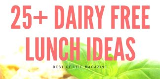 These dairy free lunch ideas are some of my favorites and are easy to weave into living a healthier lifestyle.