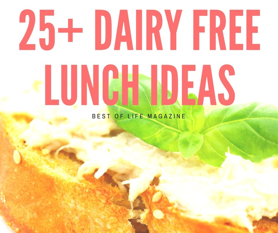 These dairy free lunch ideas are the best food allergy recipes and are easy to weave into a healthy diet. Dairy Free Recipes | Recipes without Dairy | Recipes that are Dairy Free | Food Allergy Recipes | Dairy Free Lunch Recipes | Dairy Allergy Diet | How to Go Dairy Free