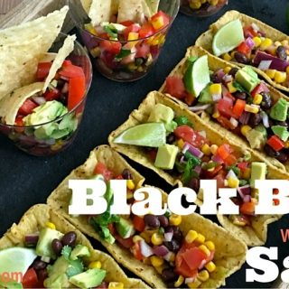 Black Bean Salsa with Avocado Recipe for Entertaining