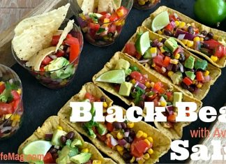 Black Bean Salsa with Avocado Recipe for Entertaining
