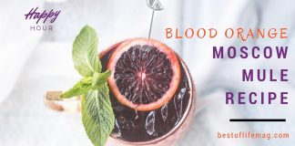 Blood Orange Moscow Mule Recipe