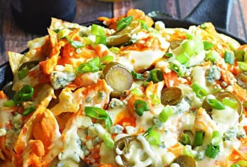 Cinco de Mayo Foods Buffalo Chicken Nachos