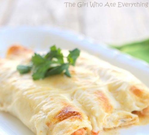 Cinco de Mayo Foods Enchiladas