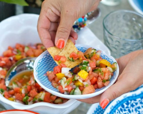 Cinco de Mayo Foods Watermelon Salsa