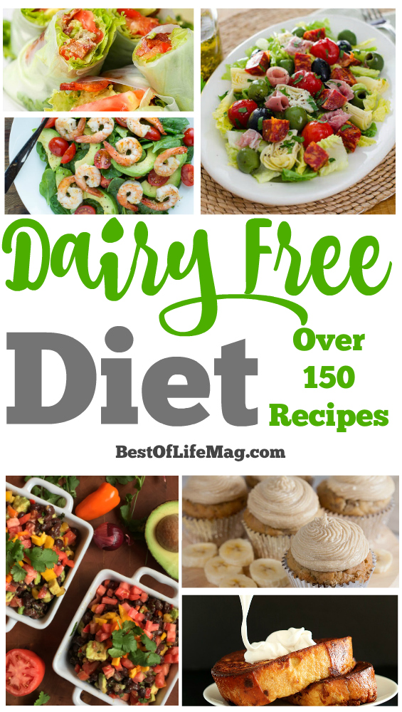 Take control of your dairy free diet and taste some new recipes. Get out of your comfort zone and be the chef you always knew you could be.