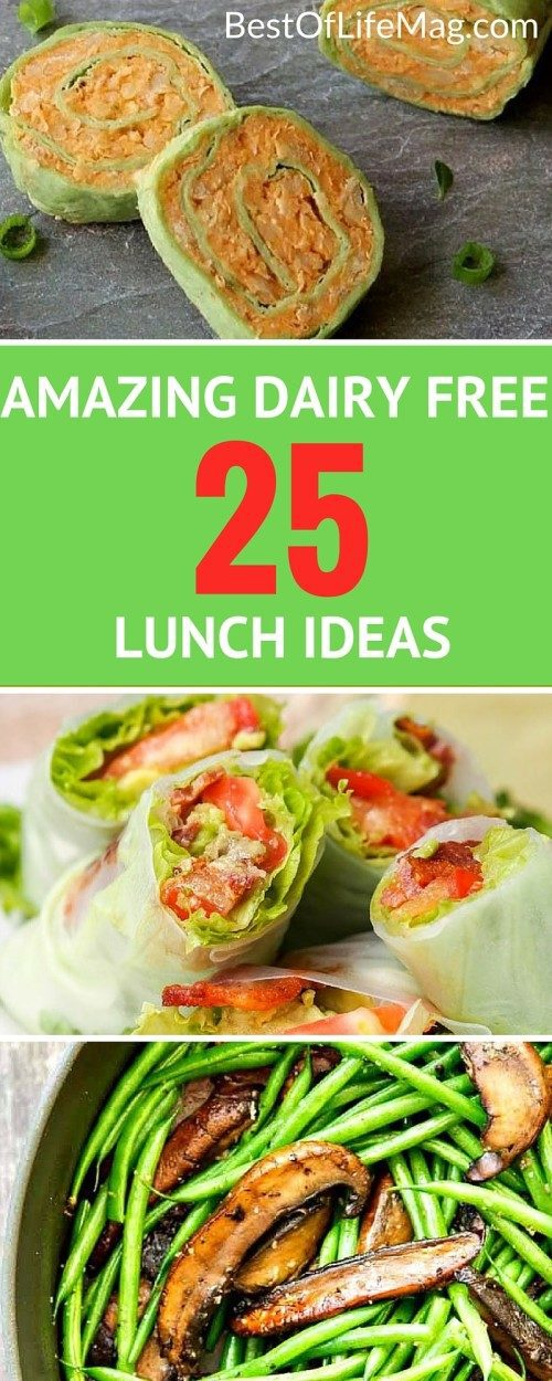 Dairy Free Lunch Recipes You'll Love