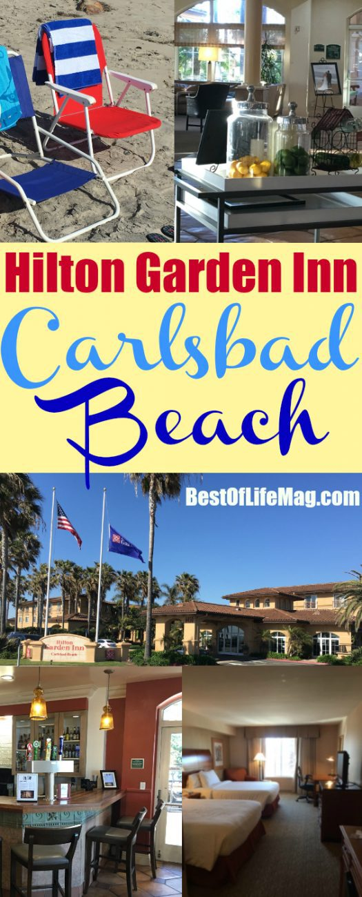 Wondering where to stay in Carlsbad California? The Hilton Garden Inn Carlsbad Beach offers so much including the beach and views!