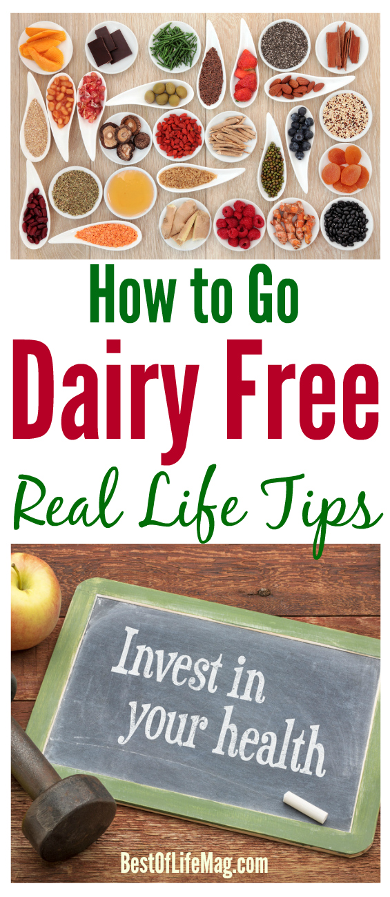 When you are wondering how to go dairy free, these real life tips will help.