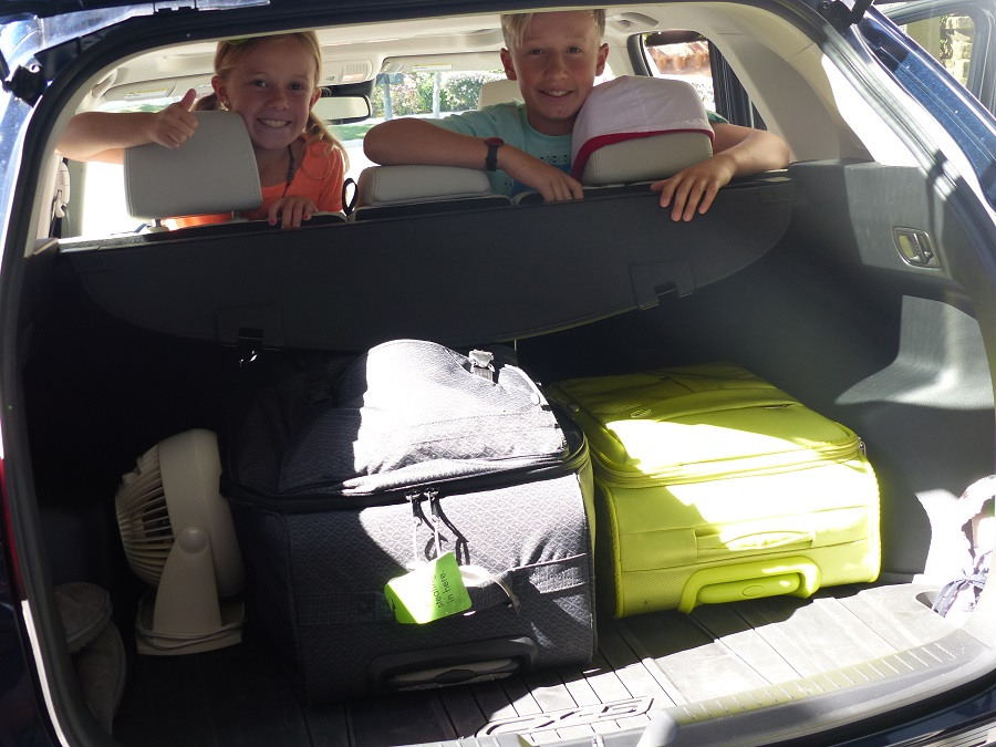 Road Trip Tips Pack One Bag for Adults & One for Kids