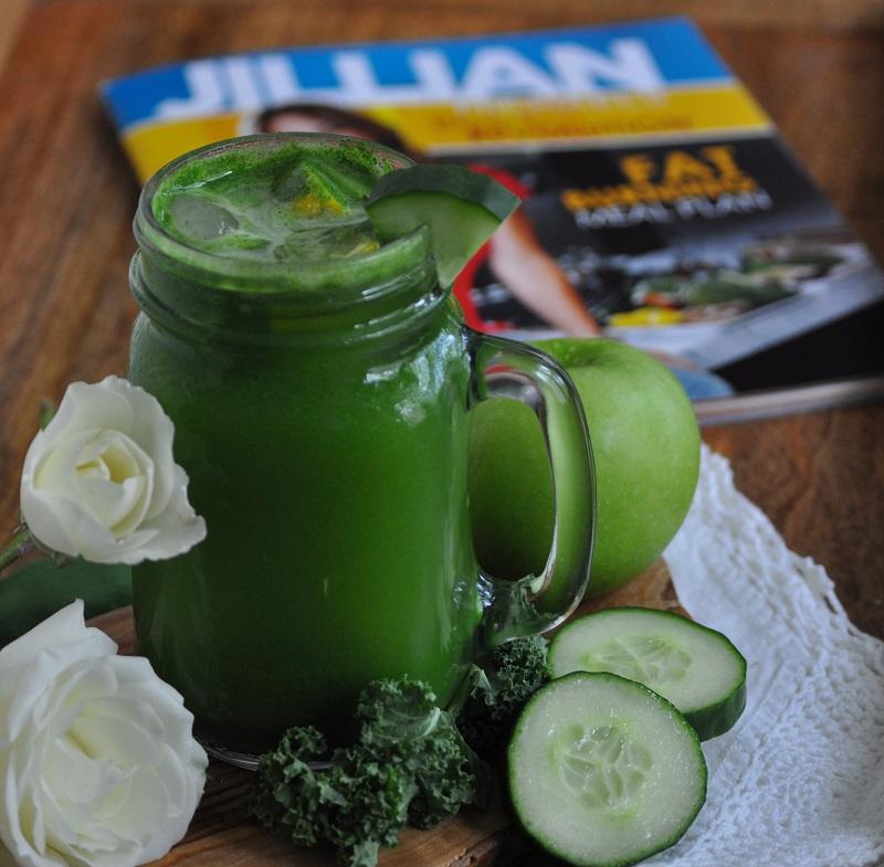 How to make Jillian Michaels Green Juice