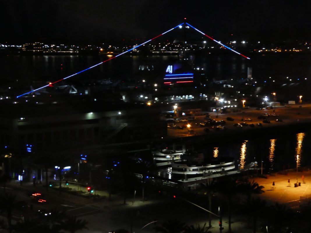 Residence Inn San Diego Downtown Bayfront Views of USS Midway