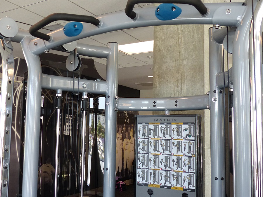 Residence Inn San Diego Downtown Bayfront workout center