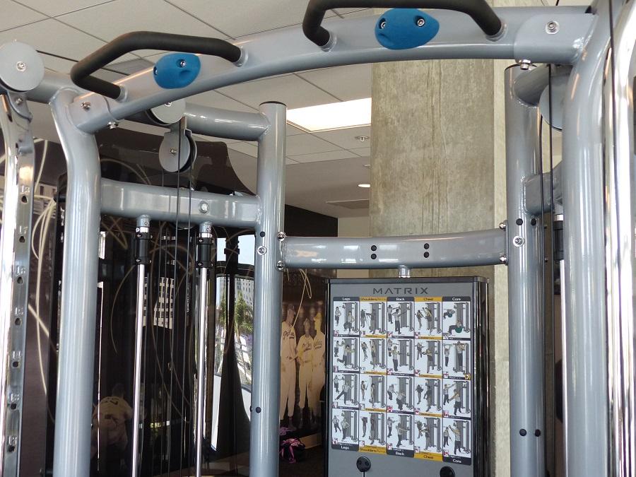 Residence Inn San Diego Downtown Bayfront workout center