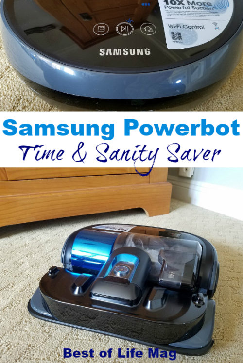 The Samsung Powerbot Essential WiFi Robot Vacuum is a time and sanity saver that everyone can appreciate.