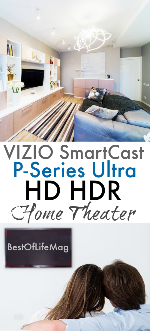 The VIZIO SmartCast P-Series Ultra HD HDR Home Theater at Best Buy takes your tech savvy home to the next level. via @amybarseghian