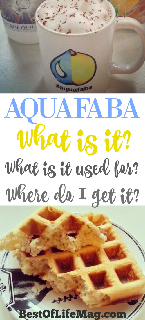 "I can't be the only one asking myself, ""What is Aquafaba?"" I recently learned about aquafaba as a dairy and egg free alternative and was immediately intrigued. After all, any food that has its own website deserves a second, very thorough look."