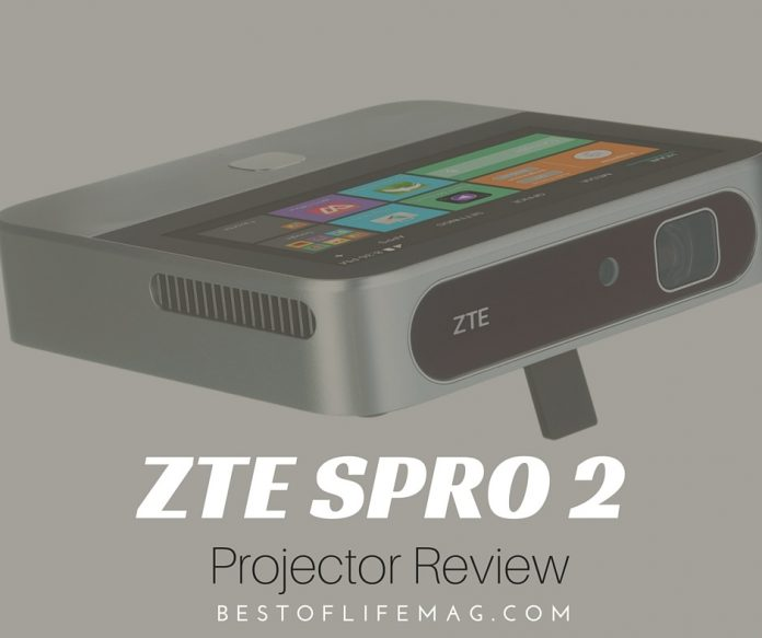 ZTE Spro 2 Projector Review