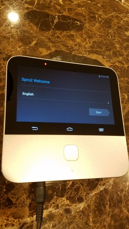 ZTE Spro 2 Projector Set up