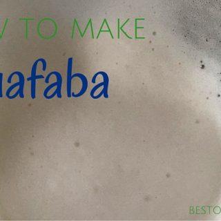 Aquafaba recipe
