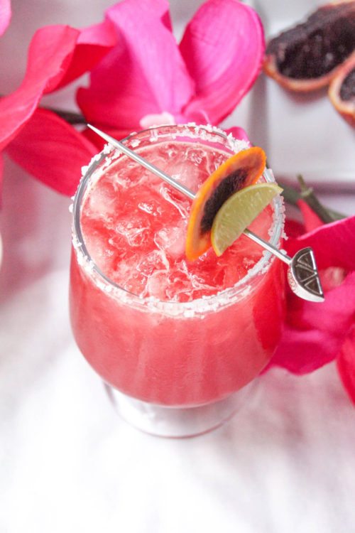 How do you make a blood orange margarita, Tequila Drinks