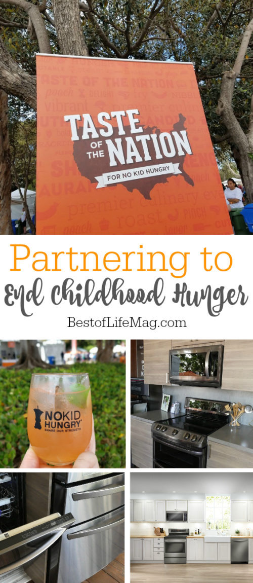 LG was on site at the popular Taste of the Nation LA 2016 event and is working to end childhood hunger with No Kid Hungry.