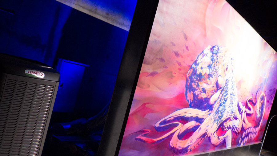 Lennox Art Exhibition Bacon