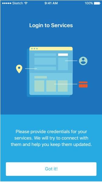 Log into Identity App