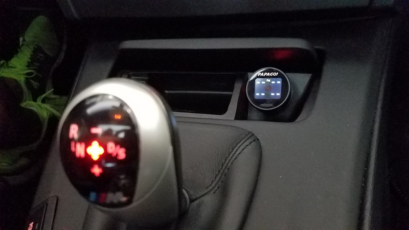 PAPAGO TPMS 100 In Car View