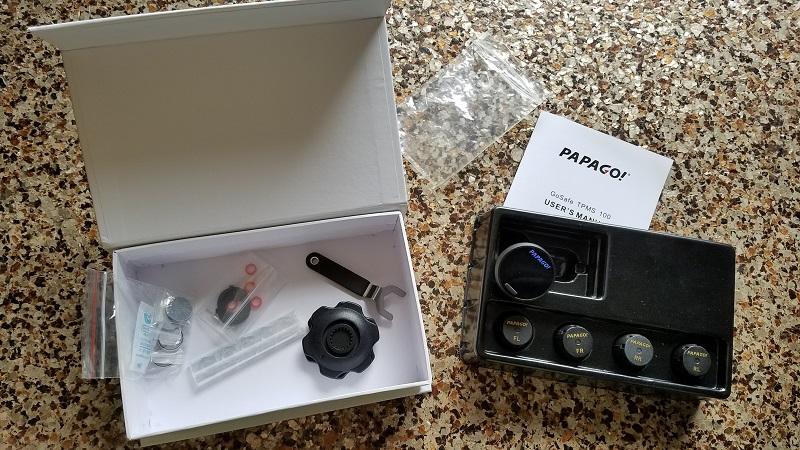 PAPAGO TPMS 100 Open Box
