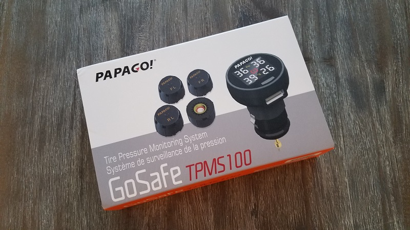 PAPAGO TPMS 100 Unboxing