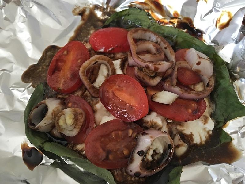 Portobello Mushroom Burger ingredients