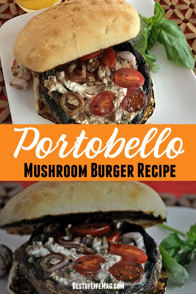 Our Portobello Mushroom Burger recipe is a long standing favorite! It is perfect for vegetarians and can be modified easily to be dairy free. Recipes with Portobello Mushrooms | Portobello Mushroom Burger Recipes | Healthy Mushroom Recipes | Healthy Burger Recipes | Vegan Burger Recipes | Dairy Free Recipes #healthy #burger via @amybarseghian