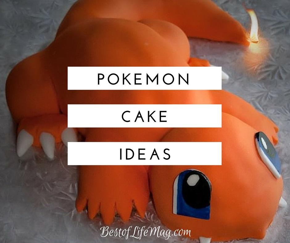Pokemon Cake Ideas - T...
