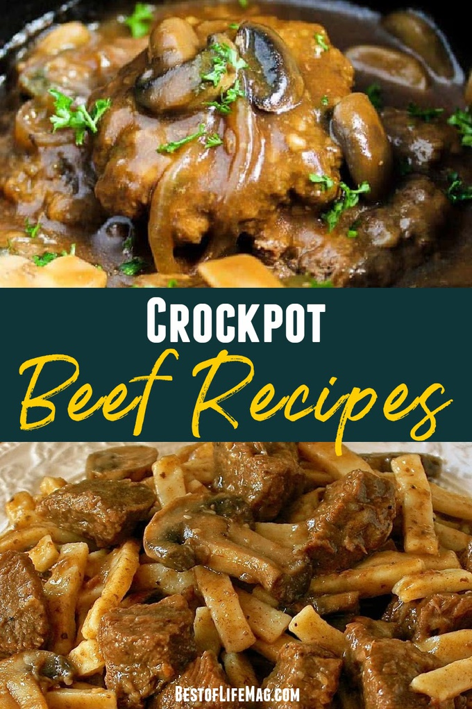 With over 30 recipes to choose from, pick your favorite cut of beef and throw it in the crockpot to make one of these delicious crockpot beef recipes. Crockpot Beef Stew   Crockpot beef Stroganoff   Crockpot Beef Tips   Beef and Broccoli Crockpot   Crockpot Recipes with Beef   Slow Cooker Beef Recipes   Crockpot Dinner Recipes   Beef Dinner Recipes Slow Cooker #crockpot #beef via @amybarseghian