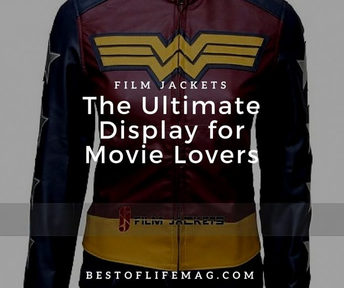 Film Jackets are the ultimate display for movie lovers of all ages.