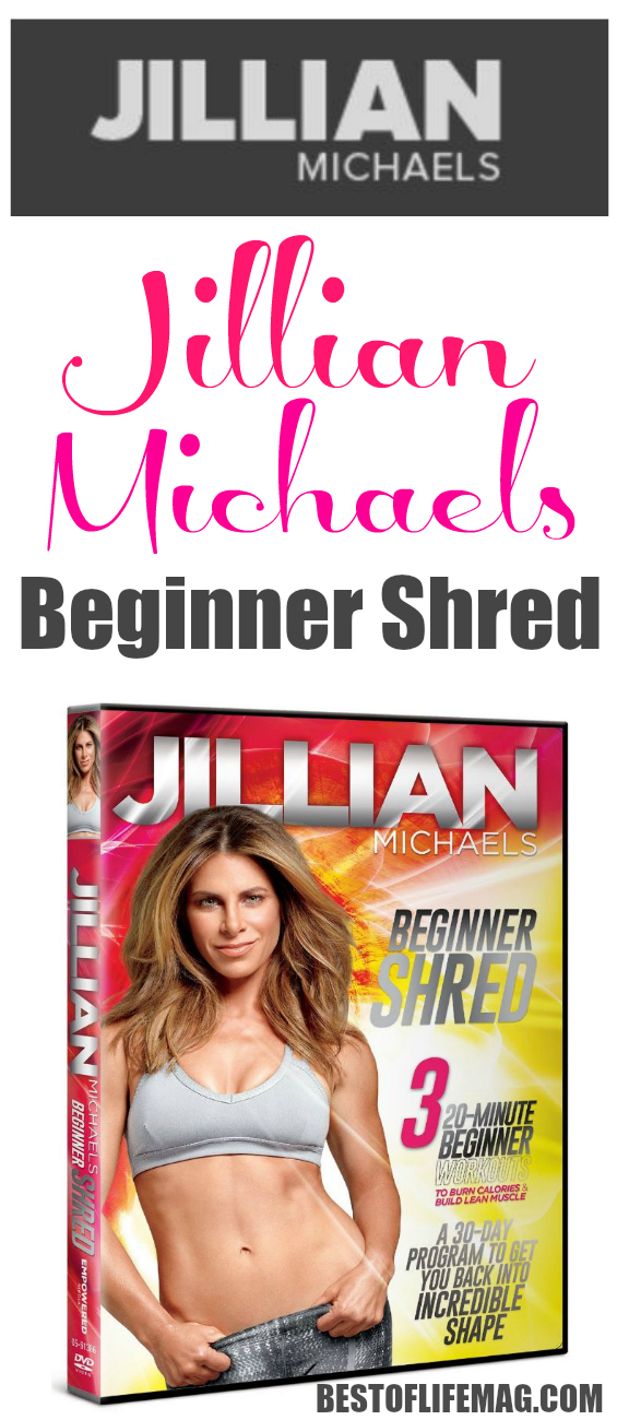 Jillian Michaels Beginner Shred workout will tone and tighten your body with low impact moves that can be easily modified for higher fitness levels. via @amybarseghian