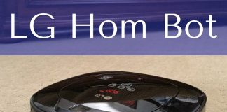 The LG Hom Bot robot vacuum makes life easier and helps ease the stress of keeping up with the house.