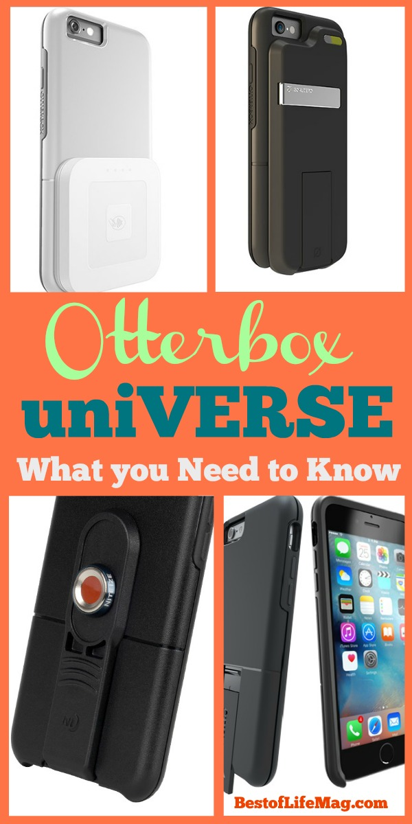 The Otterbox uniVERSE Case System takes the idea of the phone case and breathes new life into the notion.